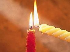 Свечи - к статье о привороте