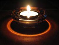 Свеча и кольцо